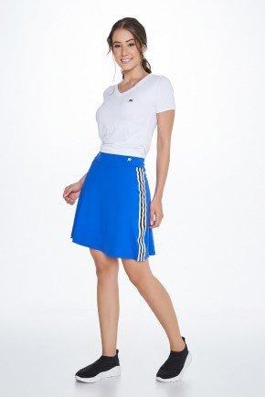 shorts saia azul royal poliamida uv50 epulari frente