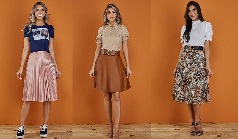 posts para blog aproveite as roupas sociais que voce ja conhece saia plissada