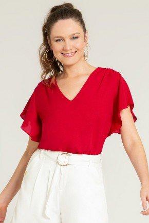 blusa ampla vermelha alberta frente1