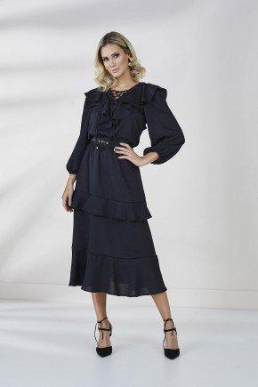 vestido preto emma cloa