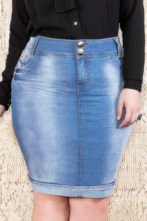 saia azul jeans desfiados no barrado imperio jeans frente baixo