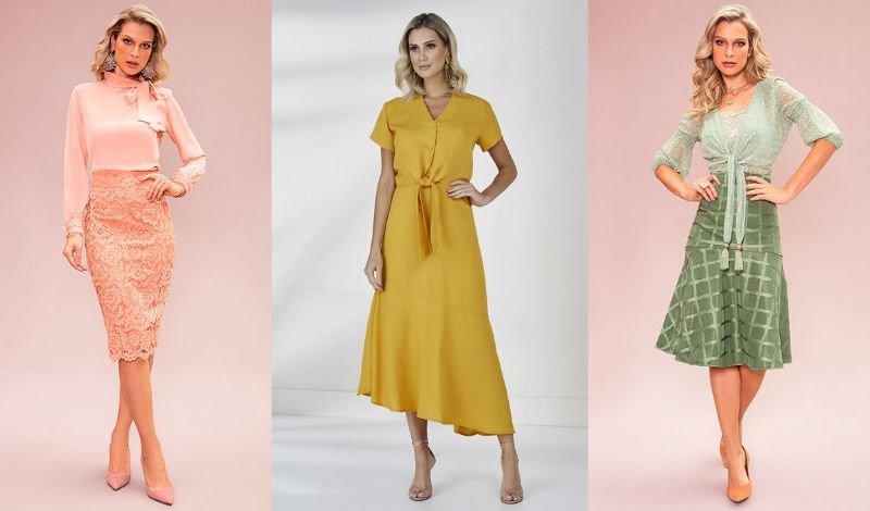 vestido cores basicas