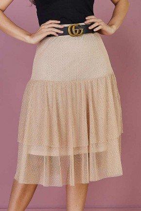 blusa bordada mangas em organza frente baixo easy resize com