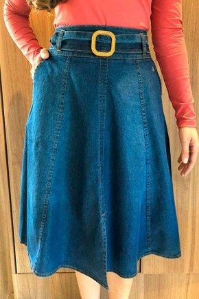 saia jeans gode com recortes via tolentino