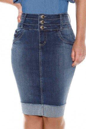 saia jeans cos triplo barra avesso titanium frente baixo