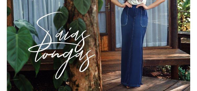Estilo de saias longas para cada ocasião