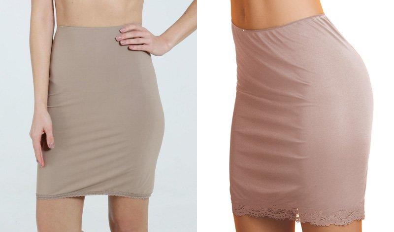 anagua para usar com vestidos ou saias 2