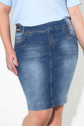 saia azul jeans cos transpassado imperio jeans frente baixo