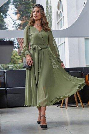 vestido ana gabriely gode jany pim frente