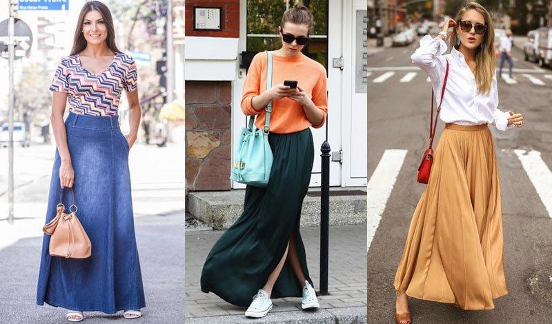 post blog looks jeans saia longa