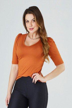 blusa feminina mangas curtas sarah cloa frente cima