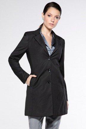 casaco sobretudo preto feminino dorothy look
