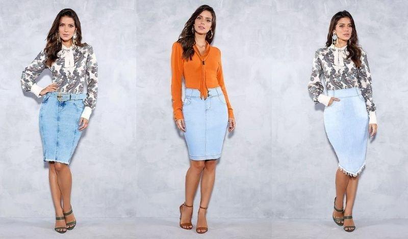 post no blog saia jeans