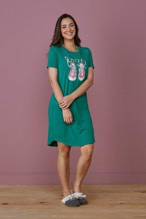 pijama feminino verde fatima tata martello frente