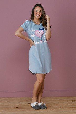 pijama feminino azul bebe fatima tata martello frente