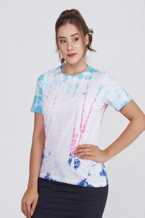 t shirt tie dye algodao manga curta epulari frente