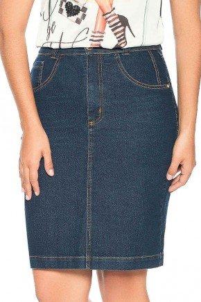 saia jeans escuro pespontos ocre nitido frenteb aixo