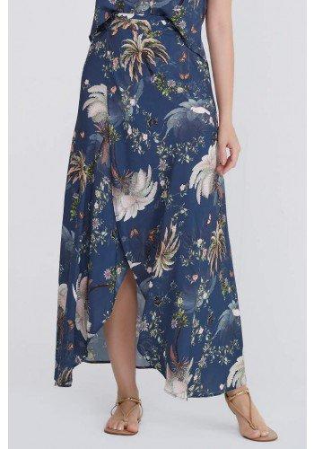 saia envelope floral longa idaiane lekazis frente baixo