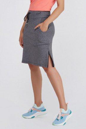 shorts saia grafite com ziper alta compressao uv50 epulari ep076 frente3