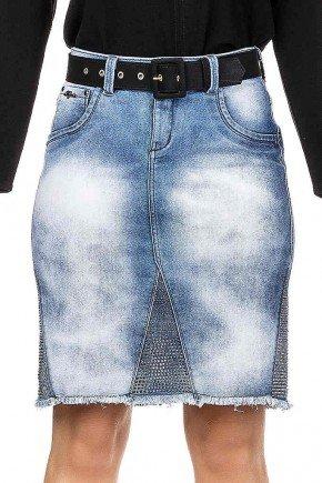 saia jeans aplicacao de termocolantes e barra desfiada dyork frente baixo