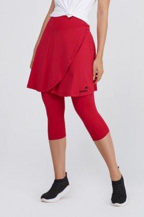 saia calca corsario vermelha poliamida macia uv50 epulari ep010vm frente3