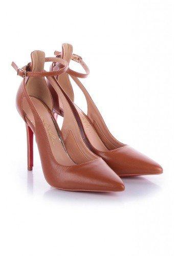 sapato marrom com sola vermelha lolita l atelier lt1053ma 3