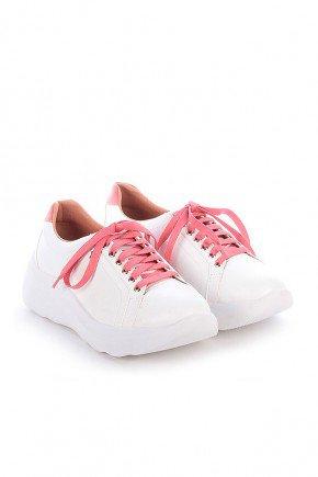 tenis branco e rosa sola alta yumi di valentini dv4244bro 3