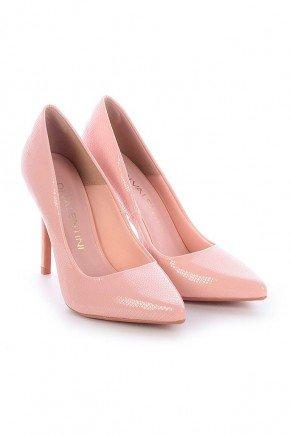 scarpin rosa croco meli di valentine dv4114cro 3