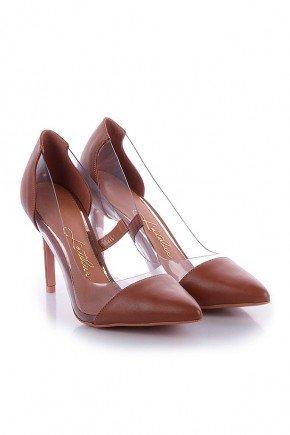 scarpin marrom com vinil jess l atelier lt1099ma 4