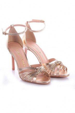 sandalia dourada salto alto pandora di valentini dv4169d 2