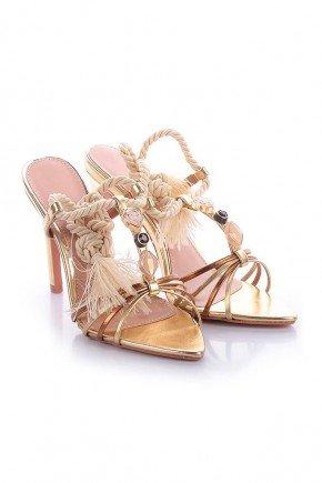 sandalia dourada com amarracao salto fino geise l atelier lt1164d 3