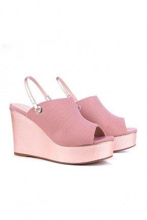 sandalia anabela rosa alice di valentini dv4199ro 4