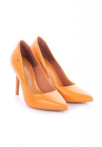 scarpin amarelo salto fino natany di valentini dv4216am 2