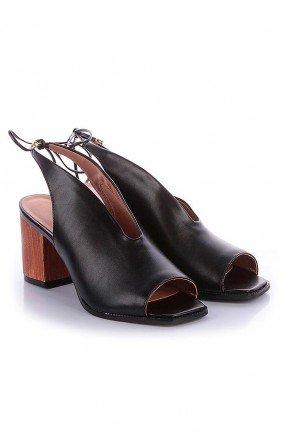 sandalia preta com amarracao noemi di valentini dv4123pr 3
