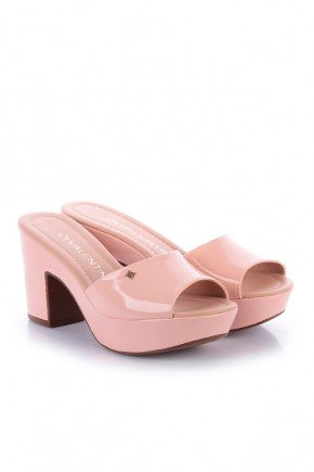 tamanco meia pata rosa leandra paula brazil pb552ro 2