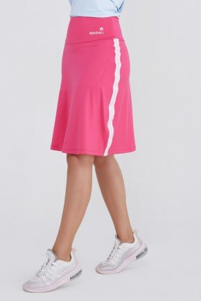 shorts saia fitness rosa poliester uv50 epulari ep012rn frente 5