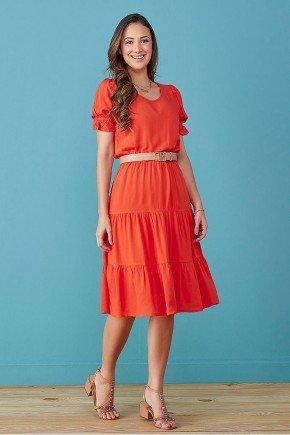 vestido laranja saia tres marias tata martello