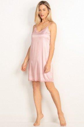 camisola curta em cetim rose ariane principessa 1210001436 1