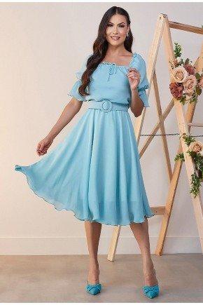 vestido midi azul gode jeane jany pim jpv50872 3