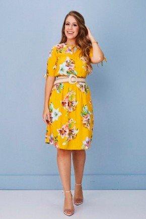 vestido floral amarelo ceara tata martello tm6035am 1