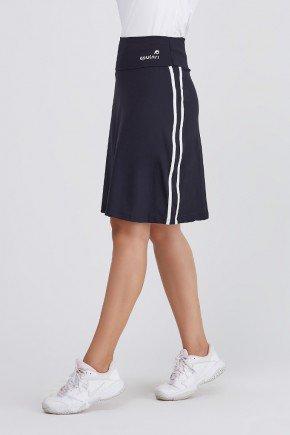 shorts saia preto com branco poliamida protecao uv50 epulari frente 11