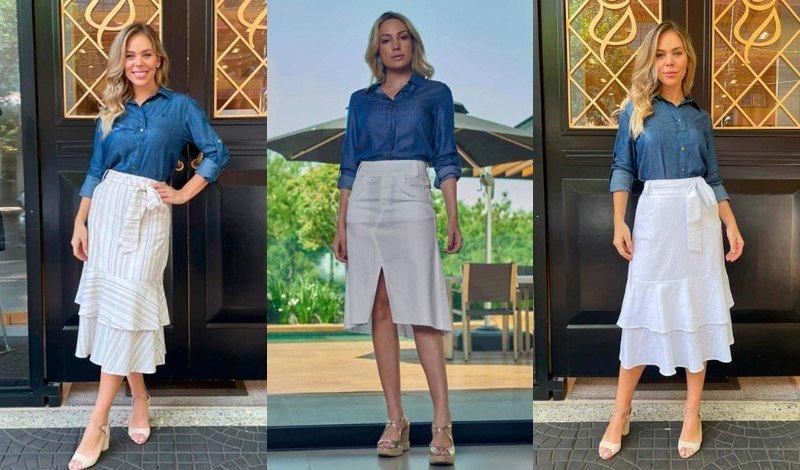 post no blog saias brancas e camisa jeans easy resize com