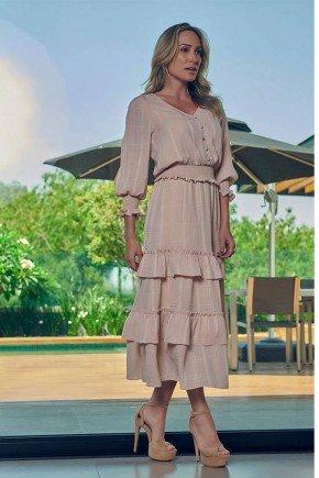 vestido midi nude com lastex via tolentino vt040037 1