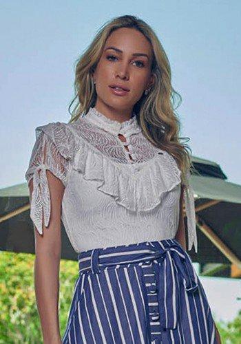 blusa de renda branca com babado e amarracao via tolentino vt050016et 1