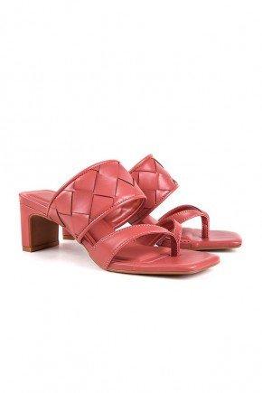 tamanco rosa com tresse liu di valentini dv4281rs 6