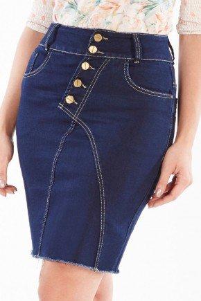 saia jeans azul marinho com pespontos claros nitido jeans 238018691 5
