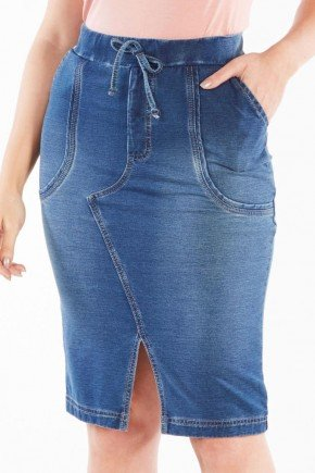 saia jeans com fenda nitido jeans 238018890 4