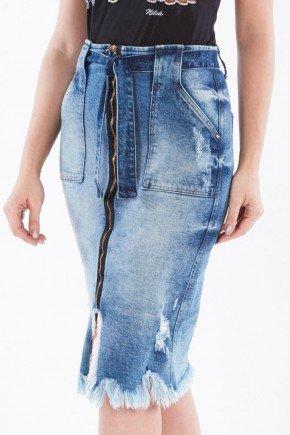 saia midi destroyed com faixa para amarrar nitido jeans 238018665 3