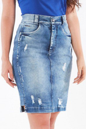 saia jeans secretaria despojada nitido jeans 238018666 5