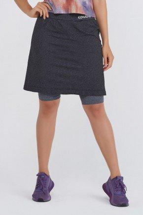 shorts saia sem costura seamless mescla uv50 epulari ep1219sc frente baixo